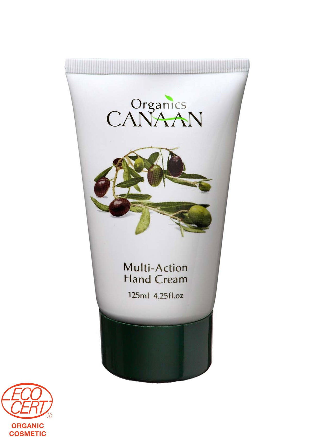 Canaan Organic - Multi-Action Hand Cream - DeadSeaShop.co.uk