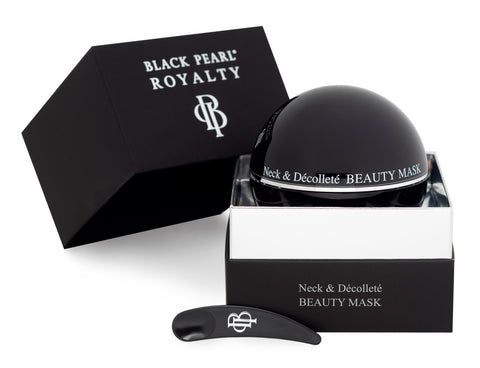 Black Pearl Royalty - Neck & Decollete Beauty Mask - DeadSeaShop.co.uk
