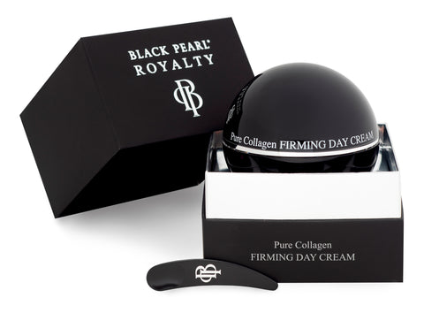 Black Pearl Royalty - Pure Collagen Firming Day Cream - DeadSeaShop.co.uk