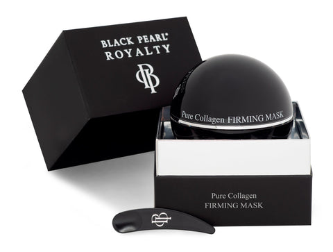 Black Pearl Royalty - Pure Collagen Firming Mask - DeadSeaShop.co.uk