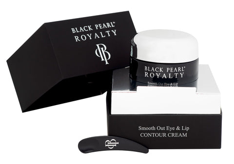 Black Pearl Royalty - Smooth Out Eye & Lip Contour Cream - DeadSeaShop.co.uk