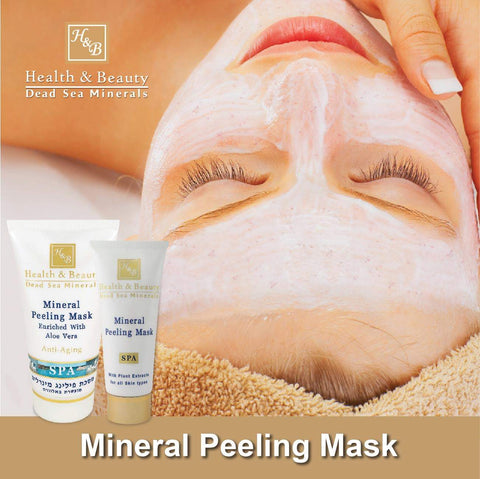 Health & Beauty - Mineral Peeling Mask - DeadSeaShop.co.uk
