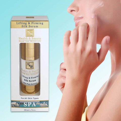 Health & Beauty - Lifting & Firming Silk Serum - DeadSeaShop.co.uk