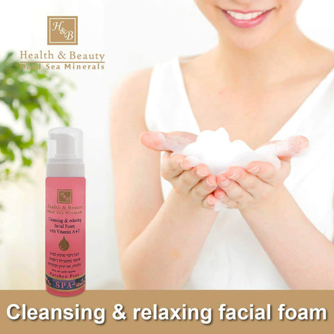 Health & Beauty - Beauty Cleansing Facial Foam - DeadSeaShop.co.uk
