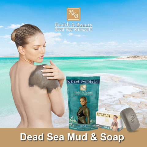 Health & Beauty - 1+1 SET - Dead Sea Mud & Soap - DeadSeaShop.co.uk
