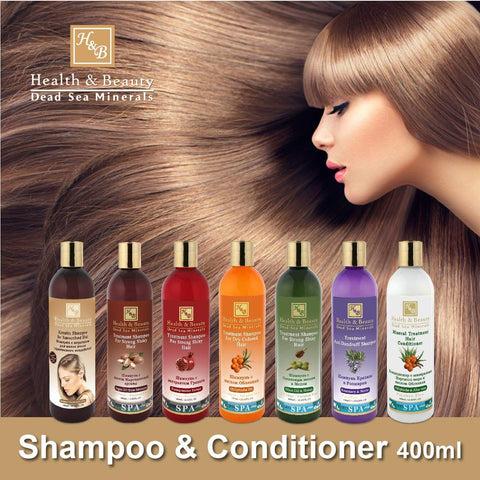 Health & Beauty -  Shampoo & Conditioner - DeadSeaShop.co.uk