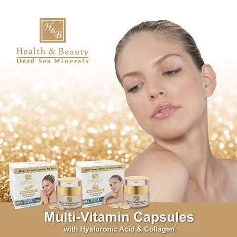 Health & Beauty - 1+1 SET - Multi-Vitamin Capsules - DeadSeaShop.co.uk