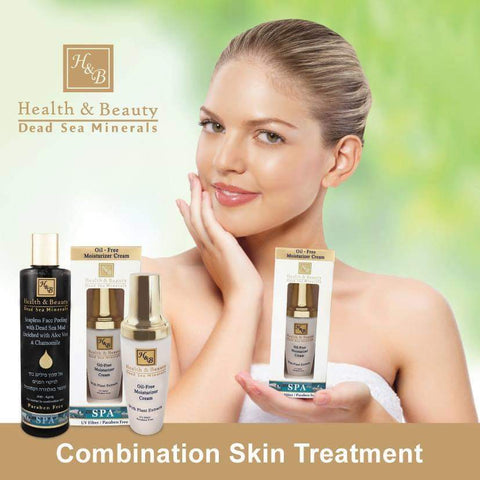 Health & Beauty - 1+1 SET - Combination Skin Treatment - DeadSeaShop.co.uk