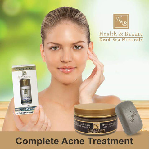 Health & Beauty - 2+1 SET - Complete Acne Treatment - DeadSeaShop.co.uk