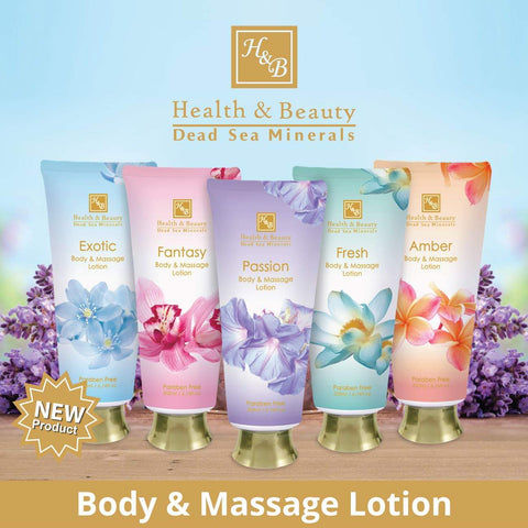 Health & Beauty - Body & Massage Lotion - DeadSeaShop.co.uk