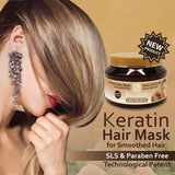 Health & Beauty - Keratin Hair Mask - DeadSeaShop.co.uk