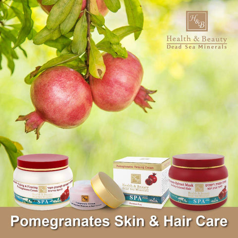 Health & Beauty - 2+1 SET - Pomegranates Skin & Hair Care - DeadSeaShop.co.uk