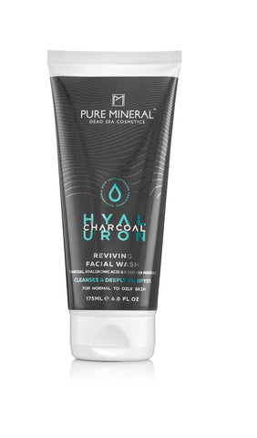 Pure Mineral Charcoal Reviving Facial Wash - deadseashop.co.uk