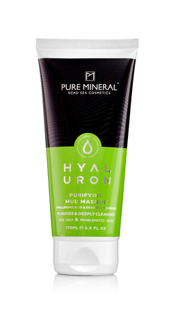 Pure Mineral Hyaluron - Purifying Mud Masque - deadseashop.co.uk