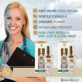 Health & Beauty - Anti-Aging Serum Eye Gel - DeadSeaShop.com