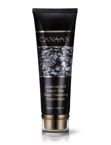 Canaan Charcoal and Kaolin Clay Deep Cleansing Facial Mask - deadseashop.co.uk