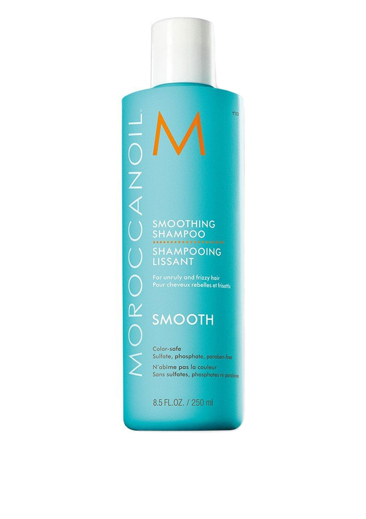 MOROCCANOIL - Smoothing Shampoo - for unruly and frizzy hair 250ml - DeadSeaShop.co.uk