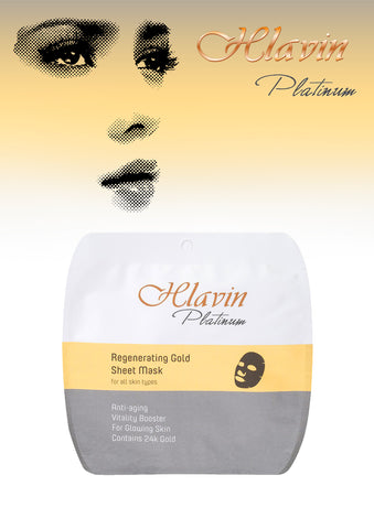 YOFING - Regenerating Gold Sheet Mask - DeadSeaShop.co.uk