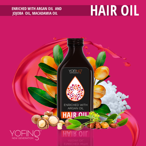 YOFING - Hair Oil - DeadSeaShop.co.uk