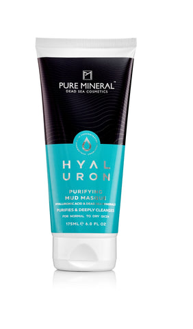Pure Mineral Purifying Mud Masque - For Normal to Dry Skin - deadseashop.co.uk