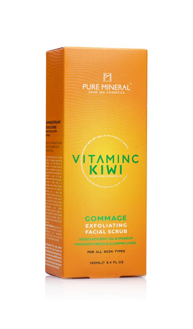 Pure Mineral Gommage  Exfoliating Facial Scrub - deadseashop.co.uk