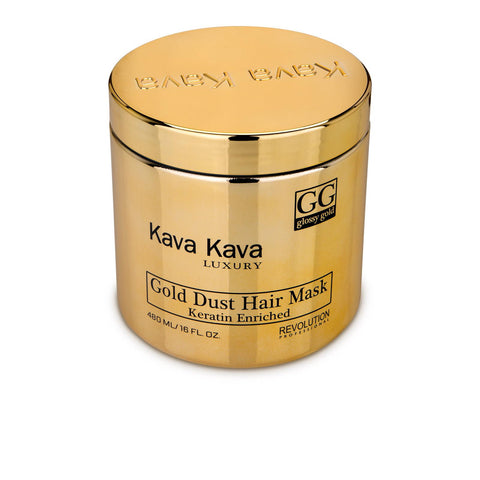 Kava Kava - Gold Dust Hair Mask - Keratin Mask - DeadSeaShop.co.uk