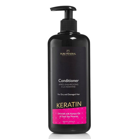 Pure Mineral - Keratin Hair Conditioner - DeadSeaShop.co.uk