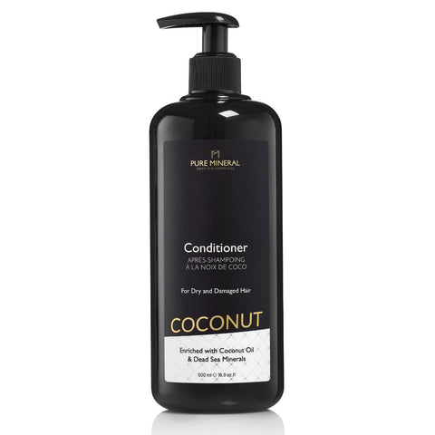 Pure Mineral - Coconut Hair Conditioner - DeadSeaShop.co.uk