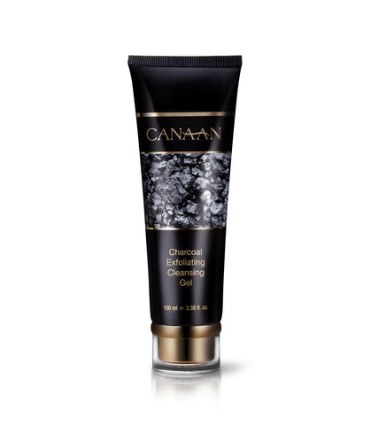 Canaan Organic Charcoal Exfoliating Cleansing Gel - deadseashop.co.uk