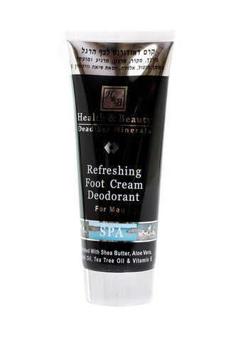 Health & Beauty - Foot Cream Deodorant - DeadSeaShop.co.uk