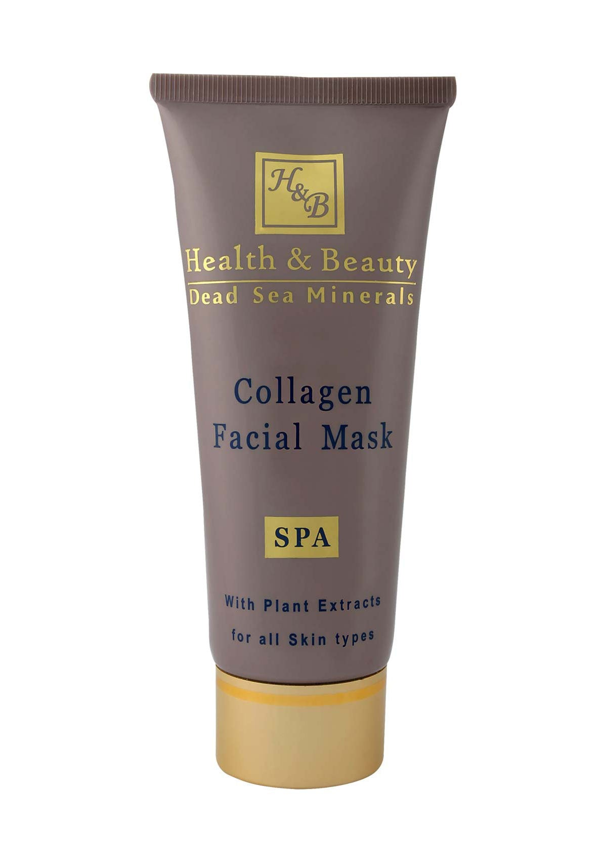 Health & Beauty - Collagen Facial Mask - DeadSeaShop.co.uk