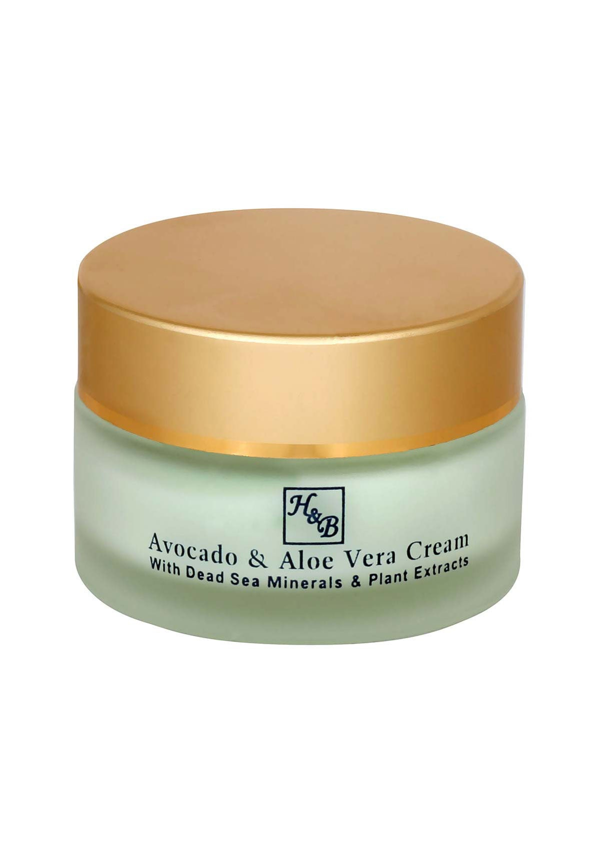 Health & Beauty - Avocado & Aloe Vera Cream - DeadSeaShop.co.uk