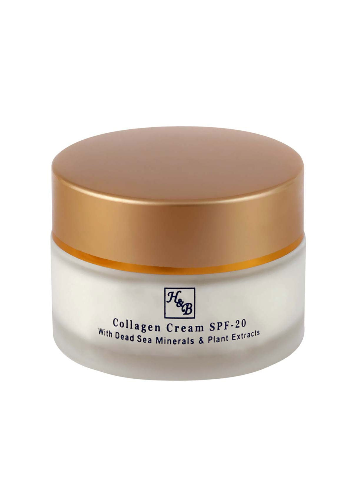 Health & Beauty - Collagen Cream SPF-20 - DeadSeaShop.co.uk