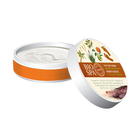 Bio Spa - Nourishing Foot Butter - deadseashop.co.uk