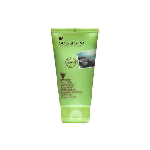 Sea Of Spa Hand Cream with Magnesium - deadseashop.co.uk