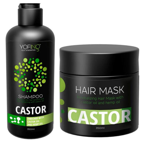 YOFING - Castor Hair Set - 1+1 - DeadSeaShop.co.uk