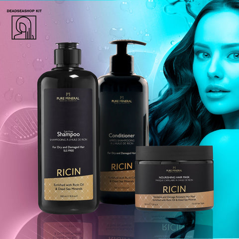 "Castor Shampoo + <strong><span style=""color: #ff2a00;""><big>2 FREE</big></strong> Conditioner & Mask"
