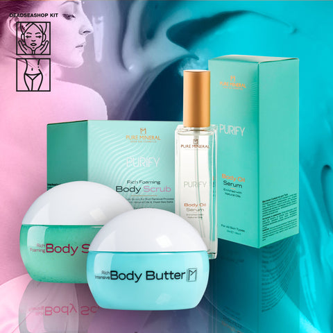 Body Scrub + 2 FREE Body Butter & Oil