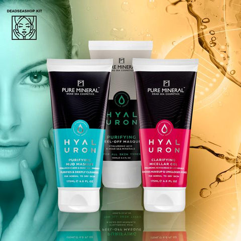 "Mud Masque + <strong><span style=""color: #ff2a00;""><big>2 FREE</big></strong> Peel Off Masque & Micellar Gel"