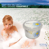 YOFING - Dead Sea Salt with Organic Chamomile - DeadSeaShop.co.uk