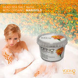 YOFING - Dead Sea Salt Bath with Organic Marigold - DeadSeaShop.co.uk