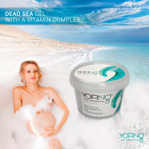 YOFING - Dead Sea Gel with a vitamin complex - DeadSeaShop.co.uk