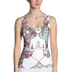 Sublimation Cut & Sew Tank Top -life is l.i.t. art