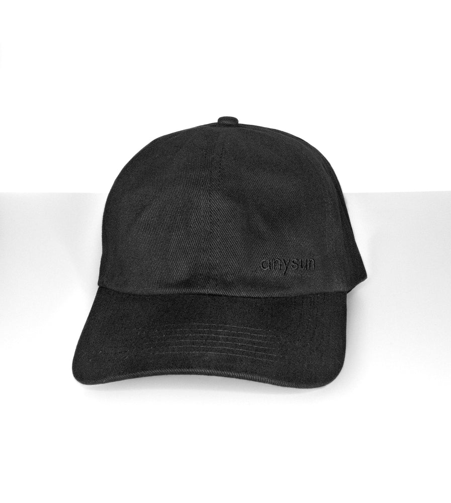 Load image into Gallery viewer, Black Silk Lined Baseball Cap - anysun