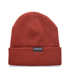 Load image into Gallery viewer, Terracotta Satin-lined Beanie - anysun