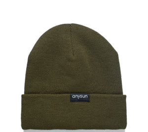 Load image into Gallery viewer, Moss Satin-Lined Beanie - anysun
