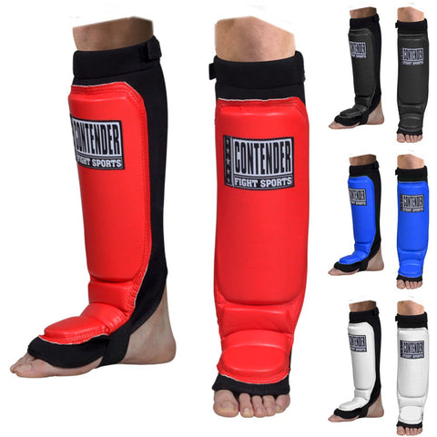 CONTENDER FIGHT SPORTS YOUTH MMA GRAPPLING SHIN GUARDS