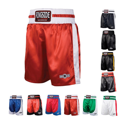 RINGSIDE YOUTH PRO STYLE BOXING TRUNKS