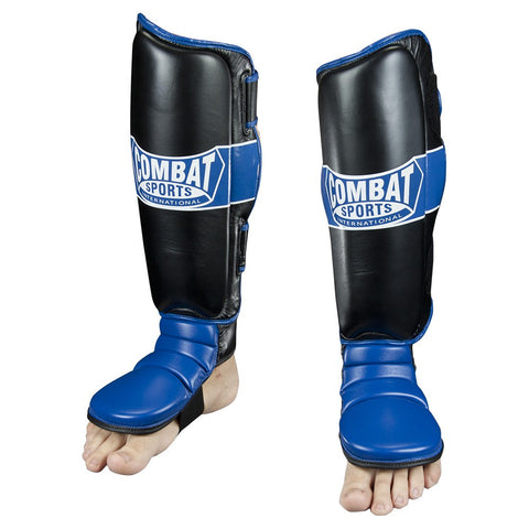 COMBAT SPORTS HYBRID MMA GRAPPLING STAND UP SHIN GUARDS