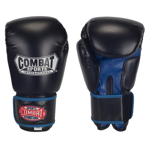 COMBAT SPORTS SYNTHETIC LEATHER THAI STYLE SPARRING GLOVES